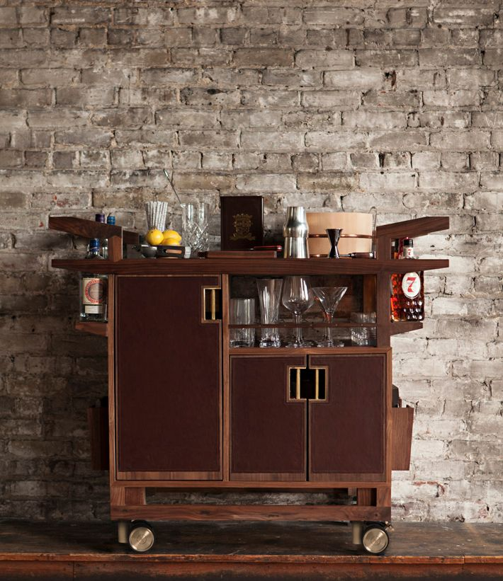 For The Price Of A Compact Car You Too Can Own One These Bar Carts